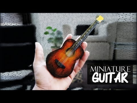 Miniature Guitar by Art and Makeover