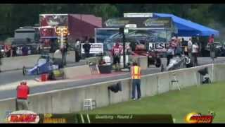 Kathy Fisher - Top Dragster - PDRA Martin, MI - June 26, 2015