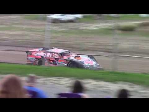 Hummingbird Speedway (9-1-18): Swanson Heavy Duty Truck Repair Semi-Late Model Heat Race #1