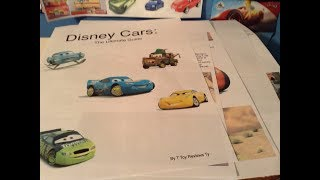 I am working on a Cars book! (in-depth sneak peek)