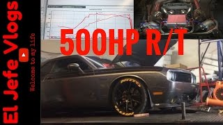 500+ HP R/T Challengers Twinturbo Vlog#51