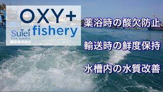 OXY+ fishery 水産用酸素供給装置