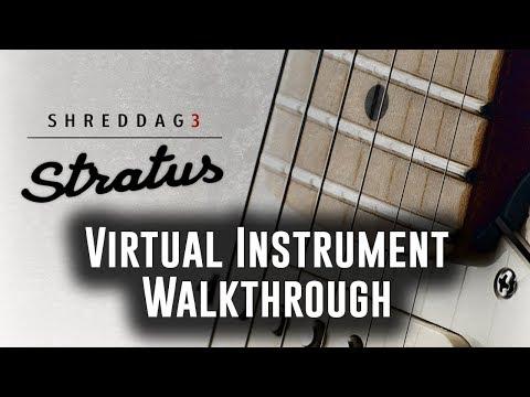 Shreddage 3 Stratus: Overview & Walkthrough (Kontakt Virtual Guitar)