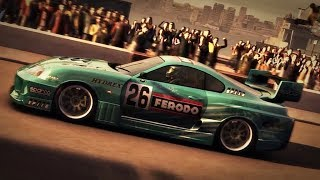 Racedriver GRID - Toyota Supra - Docks Route B1 - Race Replay