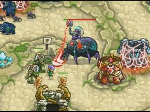 Kingdom Rush Origins - Shrine of Elynie - 3 Stars NLL - Final Battle  Walkthrough