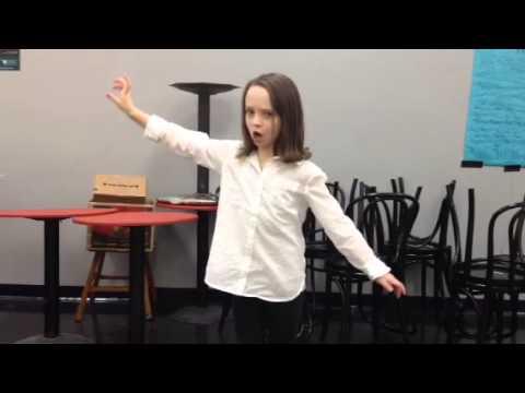 Amazing 10 year old's Shakespearean monologue