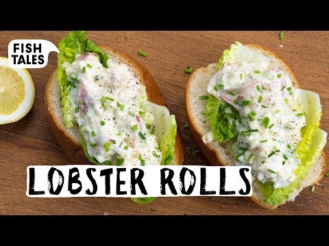 How To Make LOBSTER Rolls Recipe   Bart Van Olphen
