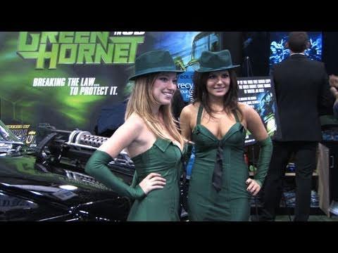 Analeigh Tipton Green Hornet