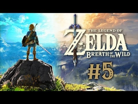 Let's Play TLoZ: Breath Of The Wild [Blind] - #5   Life On Hyrule