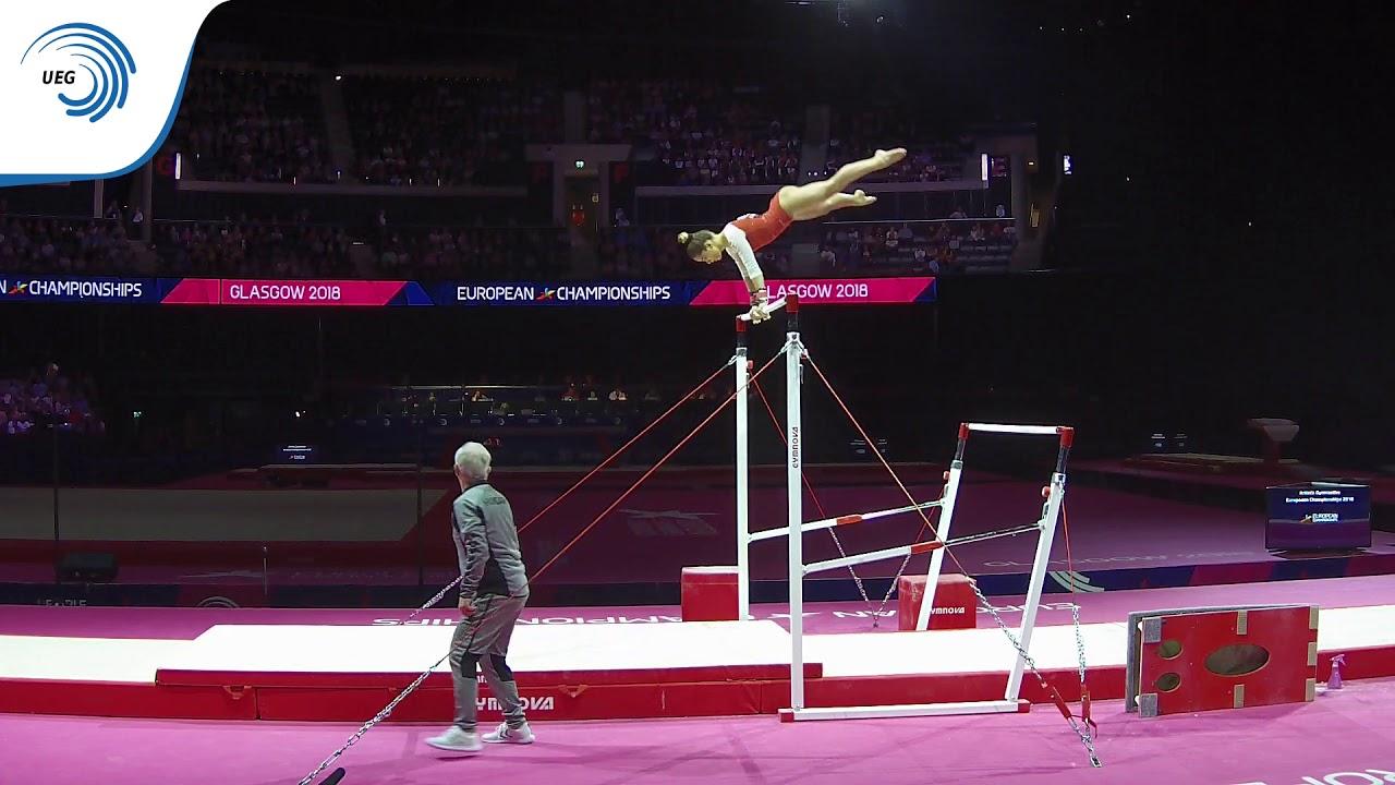 559319885c8d Zoja SZEKELY (HUN) - 2018 Artistic Gymnastics Europeans, junior bars final