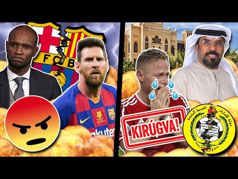 Balhé a Barcelonánál: Messi távozhat?