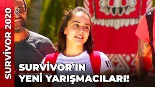Yeni Yarışmacılar Adaya Geldi! | Survivor Ünlüler Gönüllüler