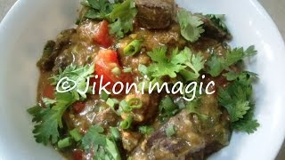How to Cook Tender Beef Liver and Onions Wet Fry (With Gravy)