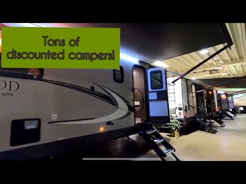 North Carolina RV Dealers Association Show | Tons Of Deeply Discounted Campers!