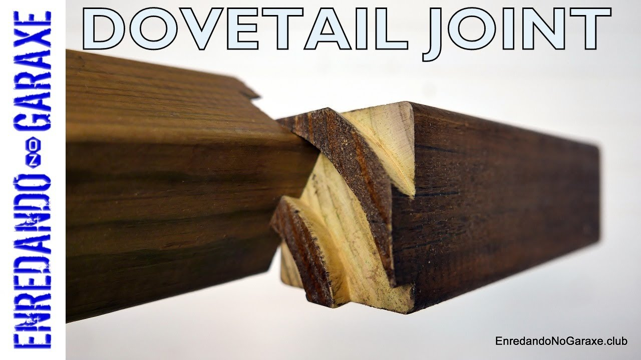 Impossible curved dovetail joint 😱 - YouTube