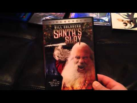 Christmas Horror Movie Bluray and DVD Collection!