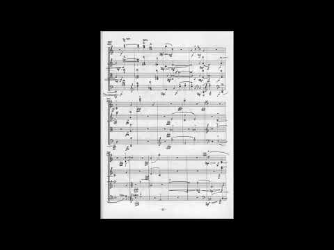 J. Cage - String Quartet In Four Parts, Arditti Quartet (w/score)