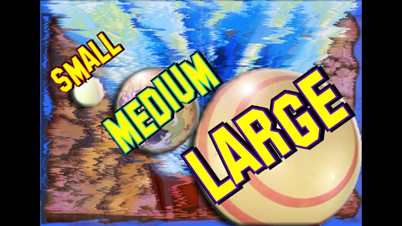 Learn Sizes Small Medium Large Box Of Adventure