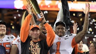 Watch live: Trump welcomes Clemson to White House after winning national title