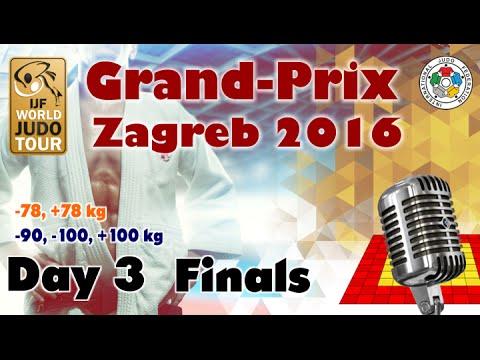 Judo Grand-Prix Zagreb 2016: Day 3 - Final Block