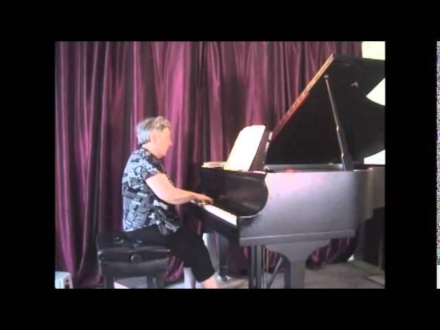Professeur de piano Montreal. Montreal piano lessons:  advanced: Schumann: Romance