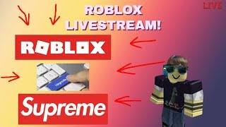 roblox | !giving away all my robux at 400 likes! (family friendly broadcast) pg clean