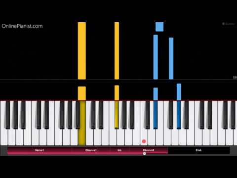 Lorde Supercut Piano Tutorial Chords How To Play Cover