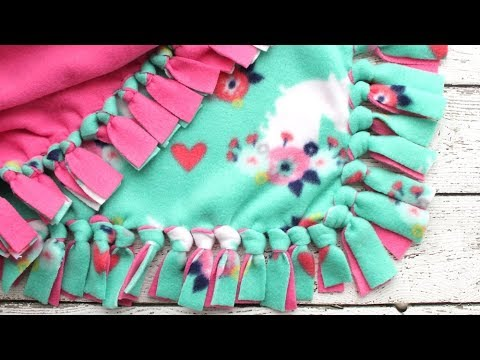 how-to-make-a-tie-blanket-from-fleece