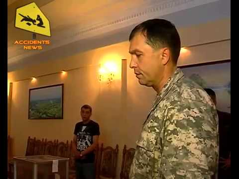 Valery Bolotov, People's Gov Lugansk, survives assassination attempt 13.05.2014