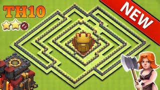 TH10 Best Trophy Base 2018 | CoC Th10 Base 2018 | Clash Of Clans
