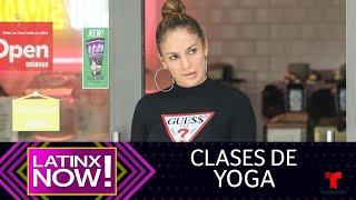 Jennifer Lopez fue con su novio y sus niñas a tomar yoga | Latinx Now!