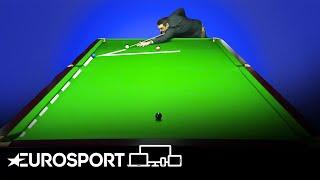 Ronnie O'Sullivan Recreates THAT Blue From the UK Championship   Snooker   Eurosport