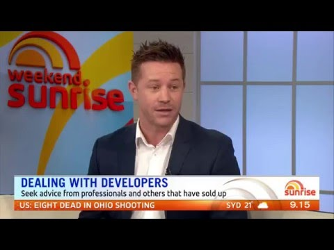 Stu on Sunrise | Dealing with Developers | Domain Property Expert
