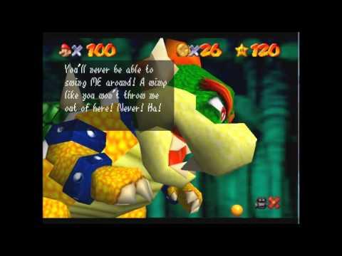 Super Mario 64 Bowser In The Dark World Jackgameshd