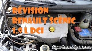 Révision  Renault scénic 1.9L DCI