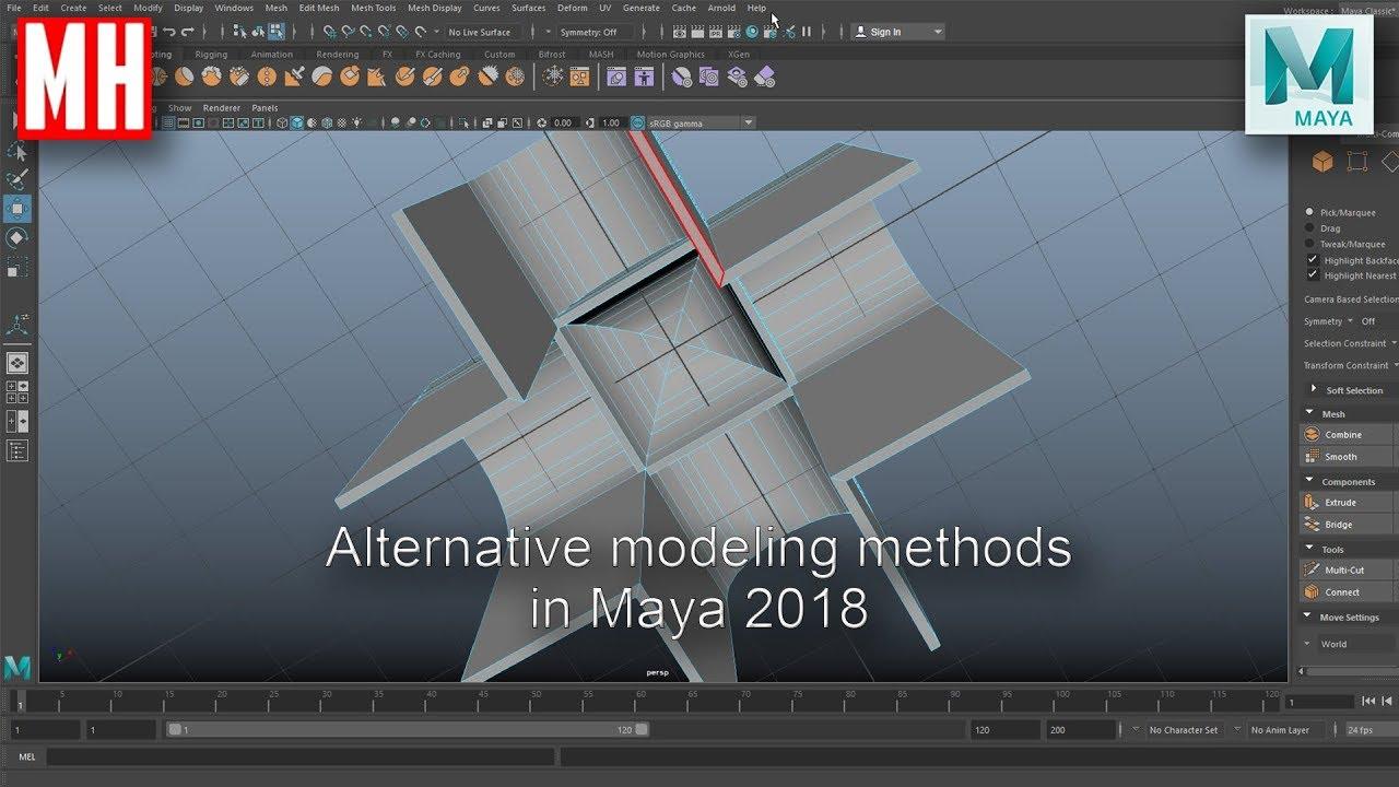 how to use maya 2018