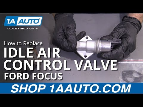 How to Replace Idle Air Control Valve 01-04 Ford Focus