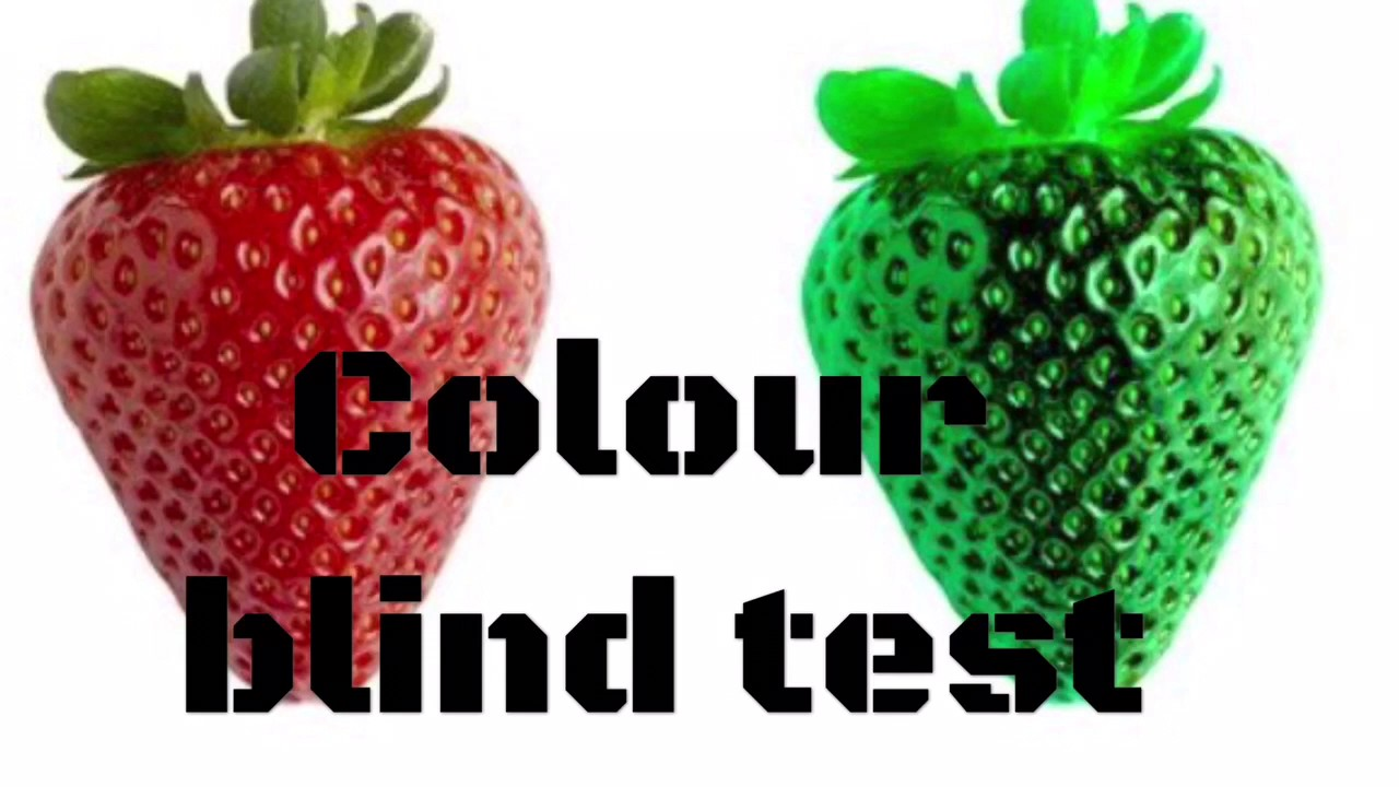Colour Blind Test!! (Optical illusion) - YouTube