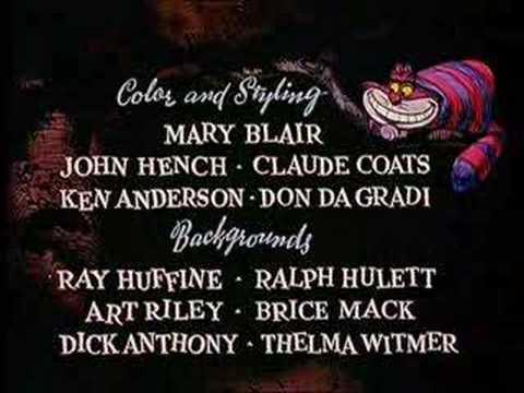 Alice In Wonderland-opening credits (italian)