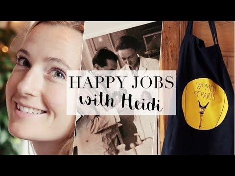 HAPPY JOBS - Nº3 Tour guiding  | WOMEN OF PARIS