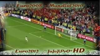 Así hace Historia, la Selección de España, todos los goles de la Euro2008 Mundial2010 Euro2012 HD