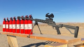 50 CAL VS FIRE EXTINGUISHER - SERBU 50 BMG