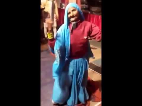 Funny Old lady dance Indian wedding