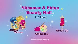 Shimmer and Shine Live Show at City Square Mall!