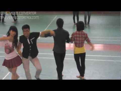 Kết thúc môn khiêu vũ tại FTU- Đức Lio,Nguyễn Hương Giang