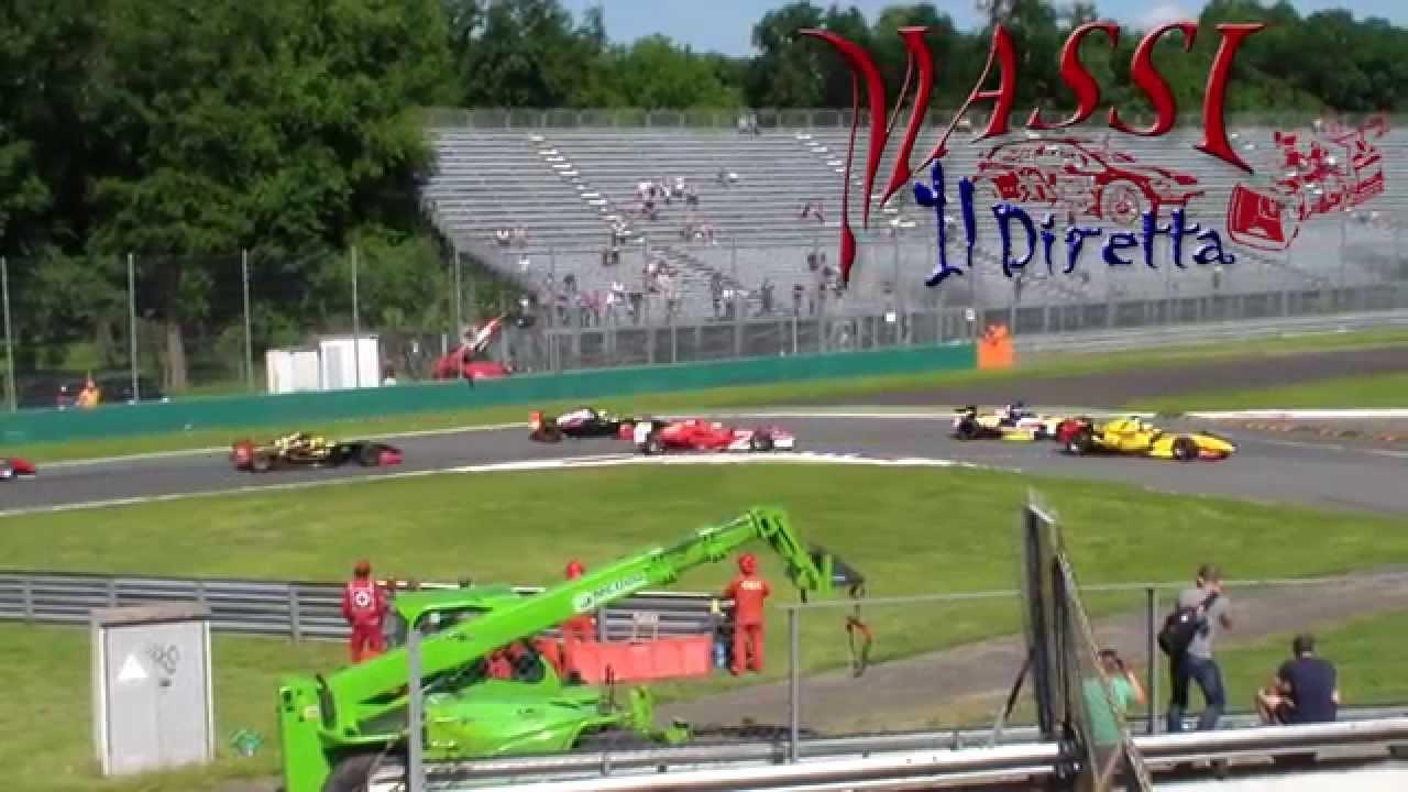 Monza - Race 2 - Prima Variante/Rettifilo - YouTube