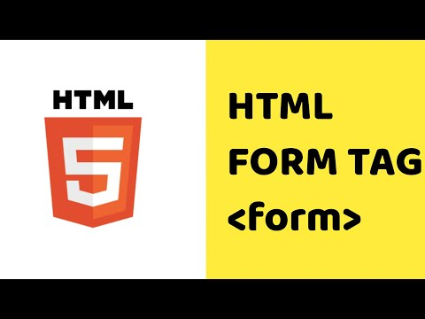 Form Tag In Html | How To Create Html Form |form Tag With Attributes | Html 5 Tutorial | Form Tags