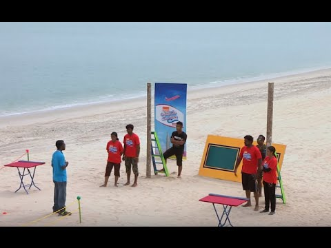 Made for Each Other I Ep 49 - Beach task I Mazhavil Manorama