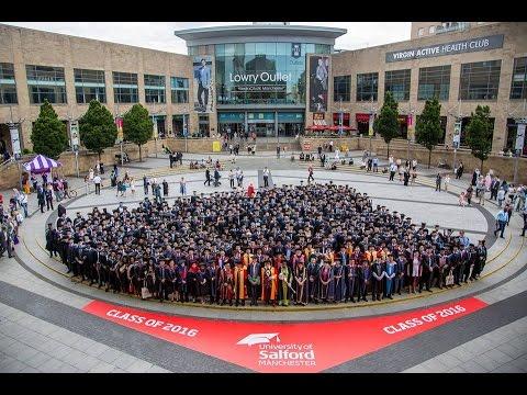 Salford University Graduation Ceremony 2016