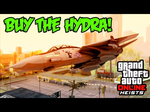 GTA 5 Heist - How To Unlock The HYDRA JET In Freemode ...